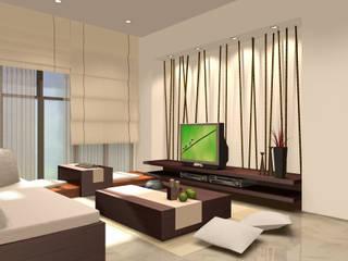 Ysk Tadilat غرفة المعيشةخزانات التلفزيون الجانبية