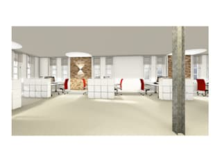 Produktion:  Bürogebäude von gottschalk innenarchitektur