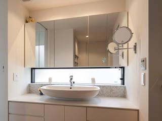 緑あふれるアトリエのある家 和風の お風呂 の 設計事務所アーキプレイス 和風