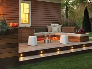 EcoSmart Fire kominki ekologiczne z Australii: styl , w kategorii Taras zaprojektowany przez ilumia.pl,