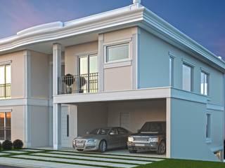 Residência Quaresmeiras Gênesis II Casas clássicas por Eliana Berardo Arquitetura e Construção Clássico