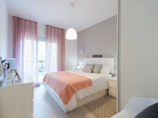 Reforma integral en Sant Andreu Dormitorios de estilo escandinavo de Global Projects Escandinavo