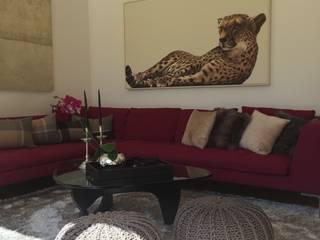 South Modern living room by Rachel Angel Design Modern