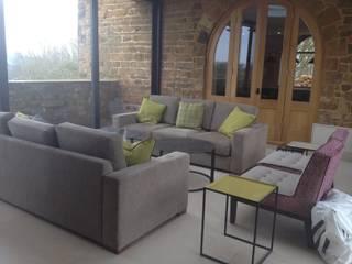 Country Modern living room by Rachel Angel Design Modern