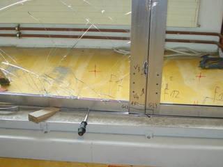 Einbruchversuch 1:   von Gilgen Door Systems