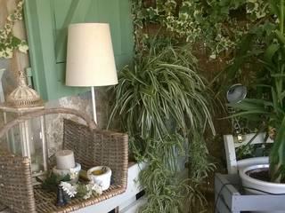 Pergola in Toscana Giardino d'inverno in stile mediterraneo di VIVERE IL FUORI Mediterraneo