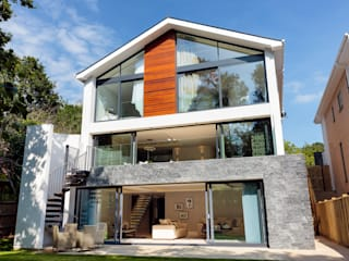 Park Show Home Modern Houses by WN Interiors Modern