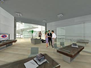 Moderne Arbeitszimmer von ARQUITECTO - JESUS A. MARTINEZ LARA Modern