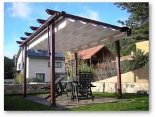 Terrazas, toldos y pérgolas:  de estilo  de SISTEMAS GAHM SL