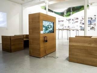 Exposition S&AA à la galerie d'architecture de Paris Centre d'expositions minimalistes par FØLSOM Minimaliste
