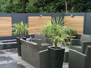 Deck-linéa Modern style gardens