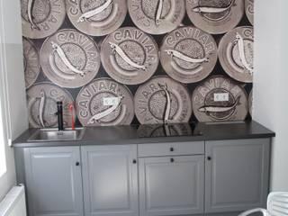 Caviar Tapete von time to GOHOME: moderne Küche von time to GOHOME