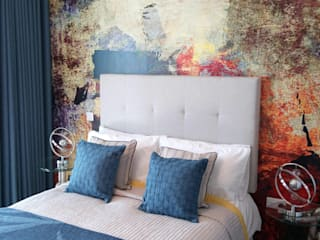 The Edge by Gusto Homes at the Lincolnshire Showground:  Bedroom by KAS Interior Design