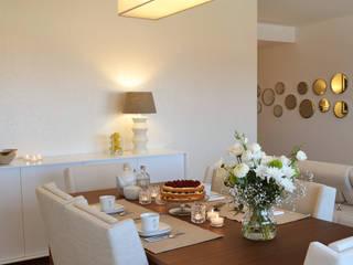 Comedores de estilo ecléctico por T2 Arquitectura & Interiores