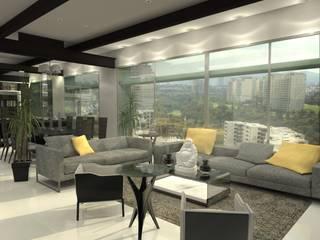 Arq. Jacobo Smeke Modern living room