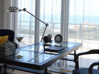 038 | Apartamento, Ericeira, Mafra:   por T2 Arquitectura & Interiores,Eclético