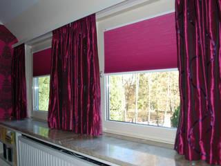 Fensterdekoration & Plissees:  Schlafzimmer von HAPKE | InteriorDesign seit 1965