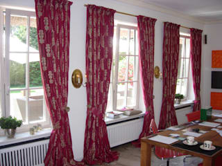 Fensterdekoration:  Esszimmer von HAPKE | InteriorDesign seit 1965