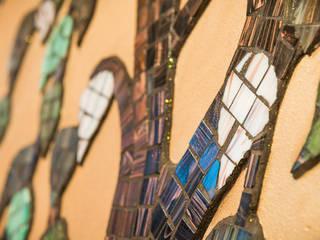 Fughe e glitter:  in stile  di Milani Iurisevic decorazioni