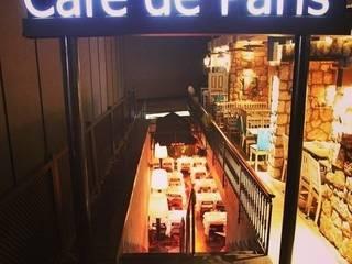 1618 DESIGN & INTERIOR ARCHITECTURE – Cafe De Paris - Nişantaşı:  tarz Koridor ve Hol