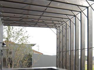 福野の家 オリジナルデザインの テラス の 濱田修建築研究所 オリジナル