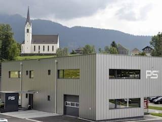 Spiegel Fassadenbau Kantor & Toko Modern