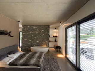 Dormitorios modernos de aprikari gmbh & co. kg Moderno
