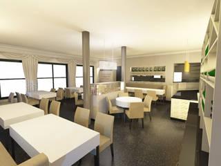 italienisches Restaurant: modern  von Dämmler GmbH & Stilplan Raumdesign,Modern