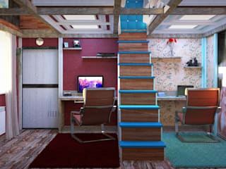 Nada-Design Студия дизайна. Nursery/kid's room