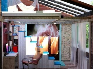 Nada-Design Студия дизайна. Dormitorios infantiles de estilo mediterráneo