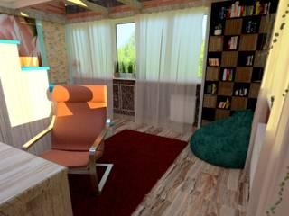Комната для двух подростков: Детские комнаты в . Автор – Nada-Design Студия дизайна.,