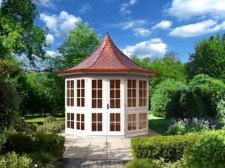 Bellevue:  Garten von RIWO Gartenpavillons