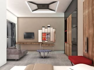 NAZZ Design Studio Modern hotels