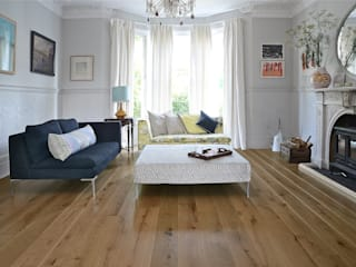 Oak Antique Pre-oiled Distressed:  Walls & flooring by The Natural Wood Floor Company