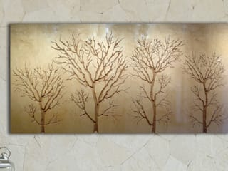 Winter Trees Carved Wall Art:   by Carved Wall Art