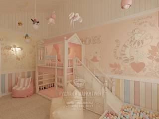 Cuartos infantiles de estilo moderno de Студия дизайна интерьера Руслана и Марии Грин Moderno
