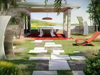 Jardins modernos por BRADSTONE Moderno