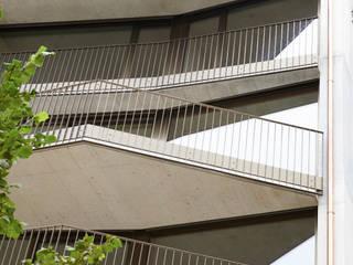 Ersatzneubau MFH Kleiber, Basel:  Terrasse von Oliver Brandenberger Architekten BSA SIA