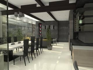 TB1504: Salas de estilo  por Arq. Jacobo Smeke, Moderno