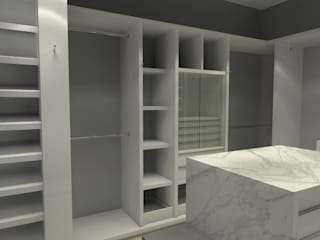Arq. Jacobo Smeke Modern dressing room