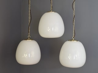 Art Deco Tulip Lights:   by Ashby Interiors Limited