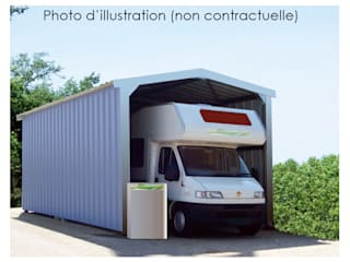 Abri camping-car en kit par Direct-batiment Moderne