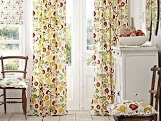 Prestigious Textiles - Pickle Fabric Collection Salas de estilo rural de Curtains Made Simple Rural