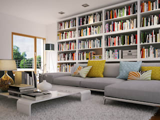 Piwko-Bespoke Fitted Furniture Living roomShelves