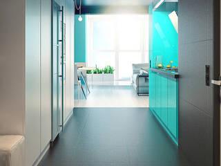 MinimaL-Loft Dmitriy Khanin Кухня в стиле лофт