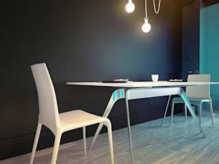 MinimaL-Loft Dmitriy Khanin Столовая комната в стиле лофт
