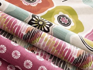Clarke and Clarke - Cariba Fabric Collection Curtains Made Simple 窗戶