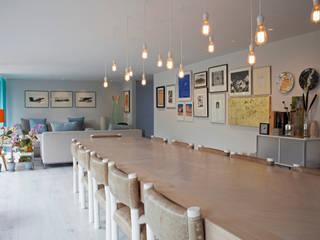 Salas de jantar  por DF ARQUITECTOS