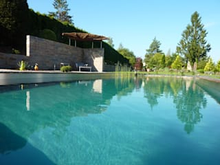 Living-Pool : moderner Pool von Maute GmbH & CO KG