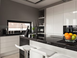 Piwko-Bespoke Fitted Furniture CocinaEstanterías y gavetas